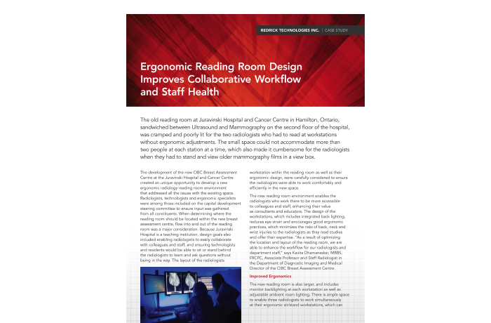 Ergonomic Reading Room Design Improves Collaborative Workflow and Staff Health