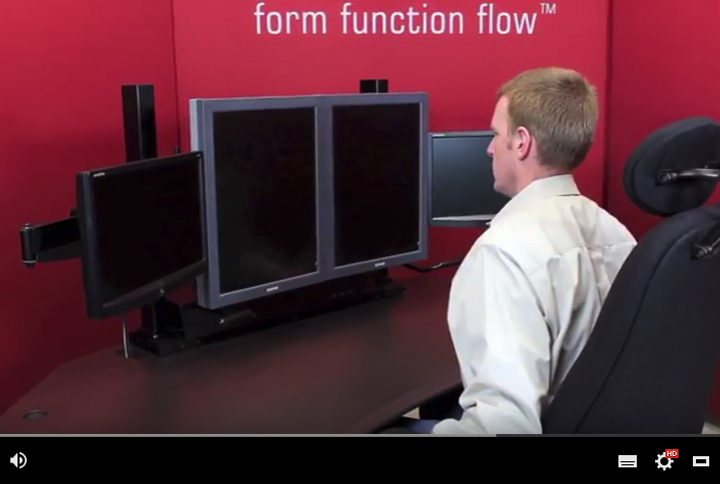 ComfortView Monitor Mounting Series Overview